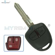цена на Lancer Outlander Colt & Mirage Remote key 2 button MIT11R profile 434mhz ID46LCK for Mitsubishi  Shogun Pajero key remtekey