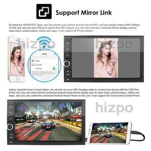 Image 5 - Più nuovo Hizpo 4GB di RAM 64G ROM 2Din HD android 10 Universal Car Audio Stereo Radio Multimediale di Navigazione GPS lettore registratore a Nastro BT