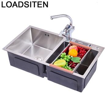 Dissipador Zlewozmywak Keuken Gootsteen Banheiro Acero Inoxidable Kitchen Cuba Pia Cozinha Fregadero De Cocina Dishwash Sink