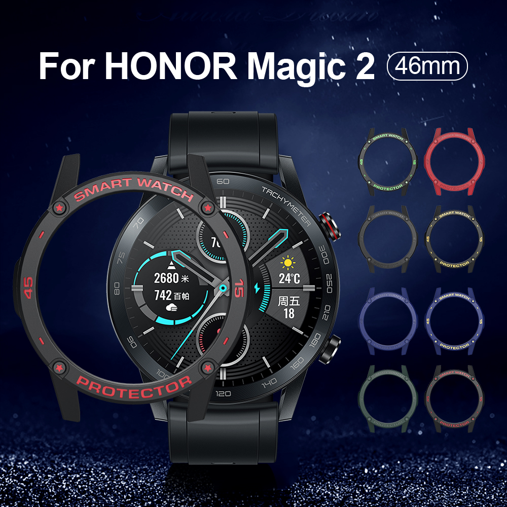 Case For Huawei Honor Magic 2 46mm MNS-B19 Smart Watches Cover TPU Shell 46mm Protector SIKAI Sport Accessories For Magic 2 42mm