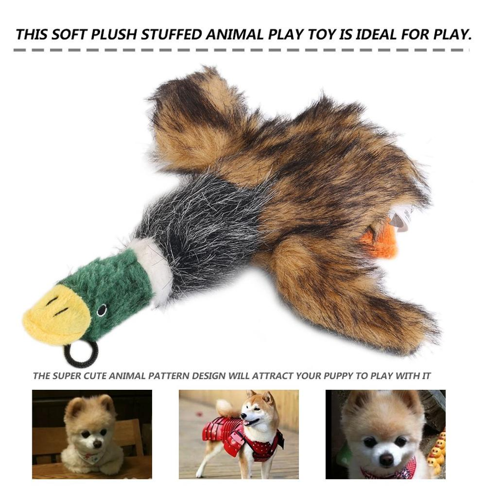 2020 Classic Dog Toys Stuffed Squeaking Duck Dog Toy Plush Puppy Honking Duck for Dogs pet chew squeaker squeaky toy|duck for dogs|squeaking duckdog toys - AliExpress