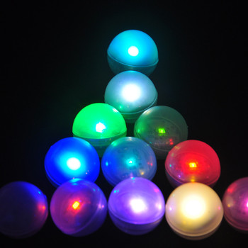 IP68 Waterproof LED Floating Ball Underwater Vase Light RGB Submersible Swimming Pool Lights For Wedding Party Baby Shower