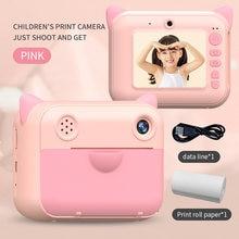 Детская камера Мгновенной Печати детская 24 дюйма 1080p hd цифровая