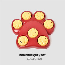 Dog Interactive Games Puzzle Toys Food Puppy Fun IQ Educational Treat Box Slow Feed Bowl Nontoxic Plate Dish 23 AugZ2