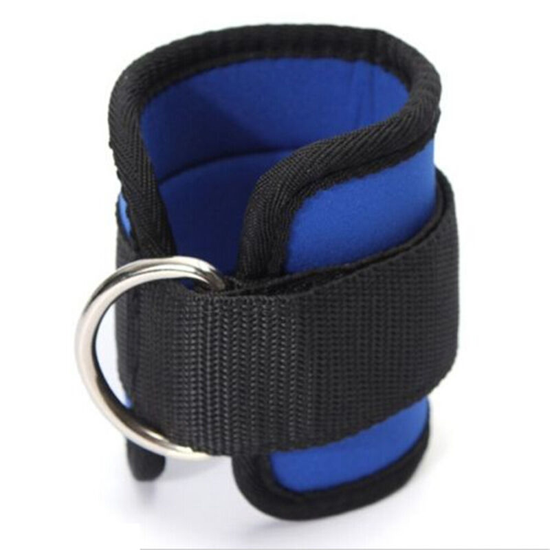 1PCS Adjustable D-Ring Ankle Straps Foot Support Ankle Protector Gym Leg Pulley Sports Fitness Feet Guard Safe Protection