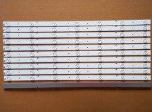 11 個新 led ストリップ用の記章 55 テレビ NS 55D550NA15 55K20DG 55K23DG HD550DF B57 SVH550AA2 REV05 7LED 130719