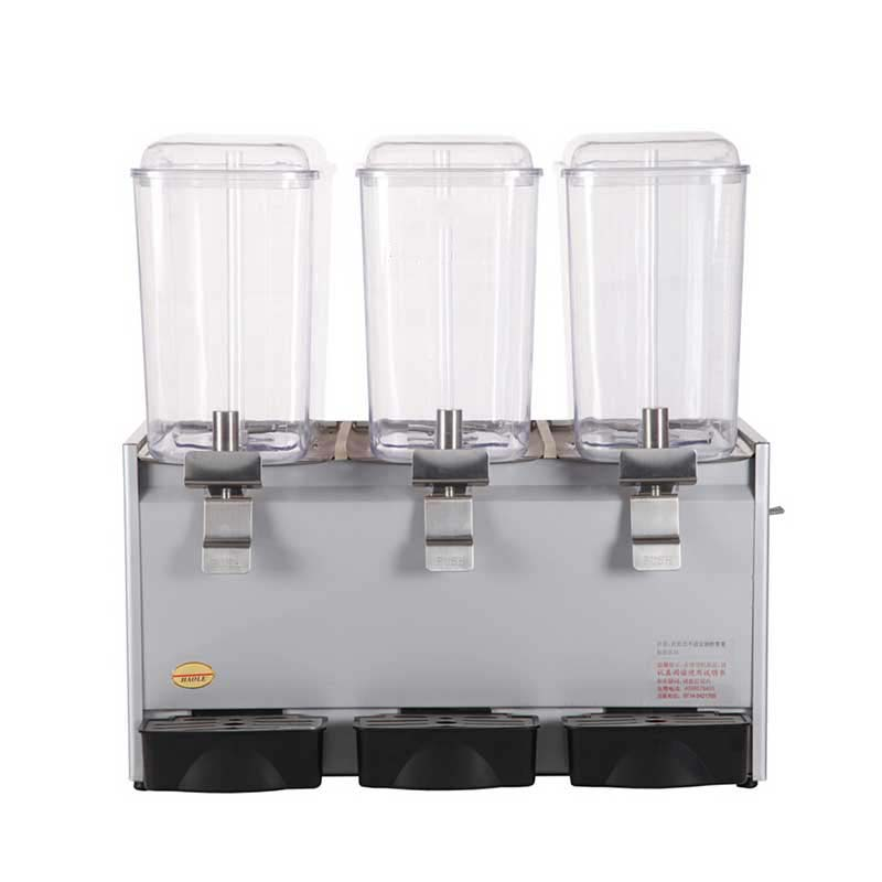 Selling  2020 Of Electricity Stainless Steel Three Head All Steel Fruit Juice Dispenser