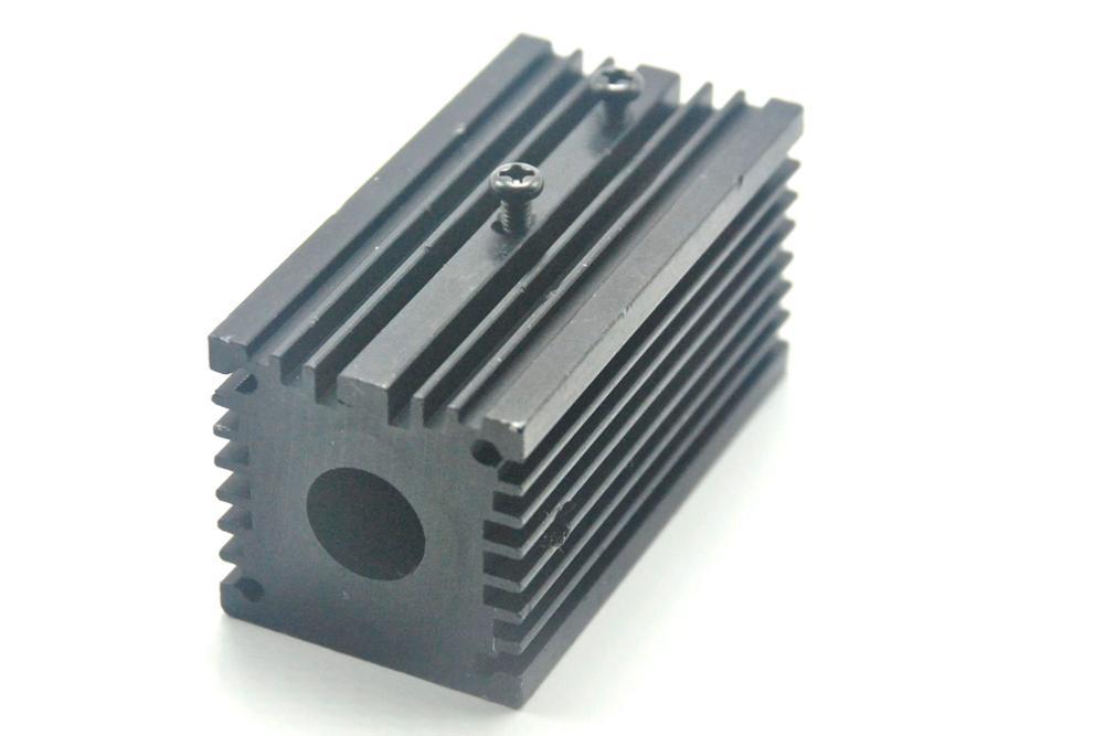 Aluminum Cooling Heat Sink Holder Mount for 12mm Laser Diode Modules Long-time Work 32x62mm