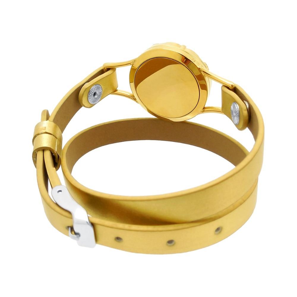 ZP-BS610-4 Diffuser Leather Locket Bracelet