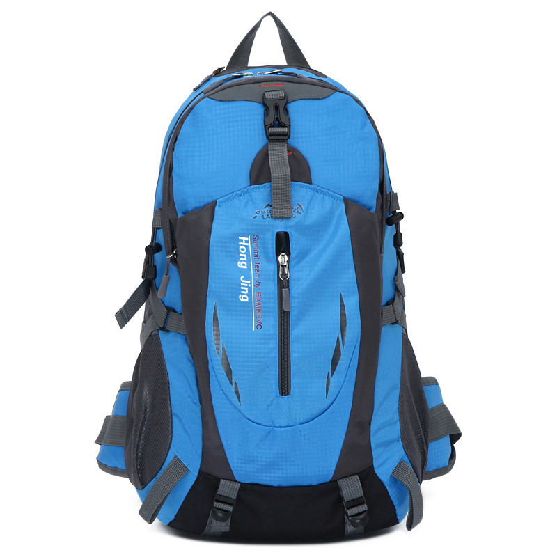 Factory Wholesale Men's Backpack Travel Large-Volume Mountain Climbing Waterproof With Waist Support Outdoor Backpack Gift Custo
