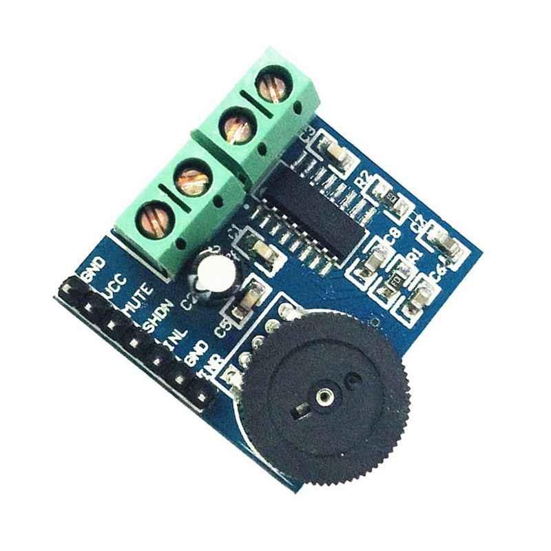 PAM8403 dwóch kanałów podwójny tor moc dźwięku moduł wzmacniacza 5V 3W2