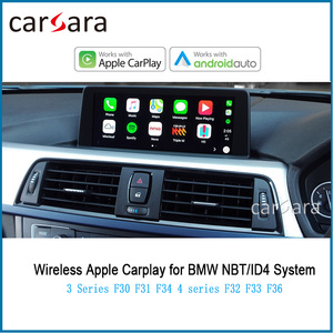 Mirrless Mirror Link CarPlay para F30 F31 F34, AirPlay Decorder 4 series F32 F33 F36, Android, Auto App le Car Play