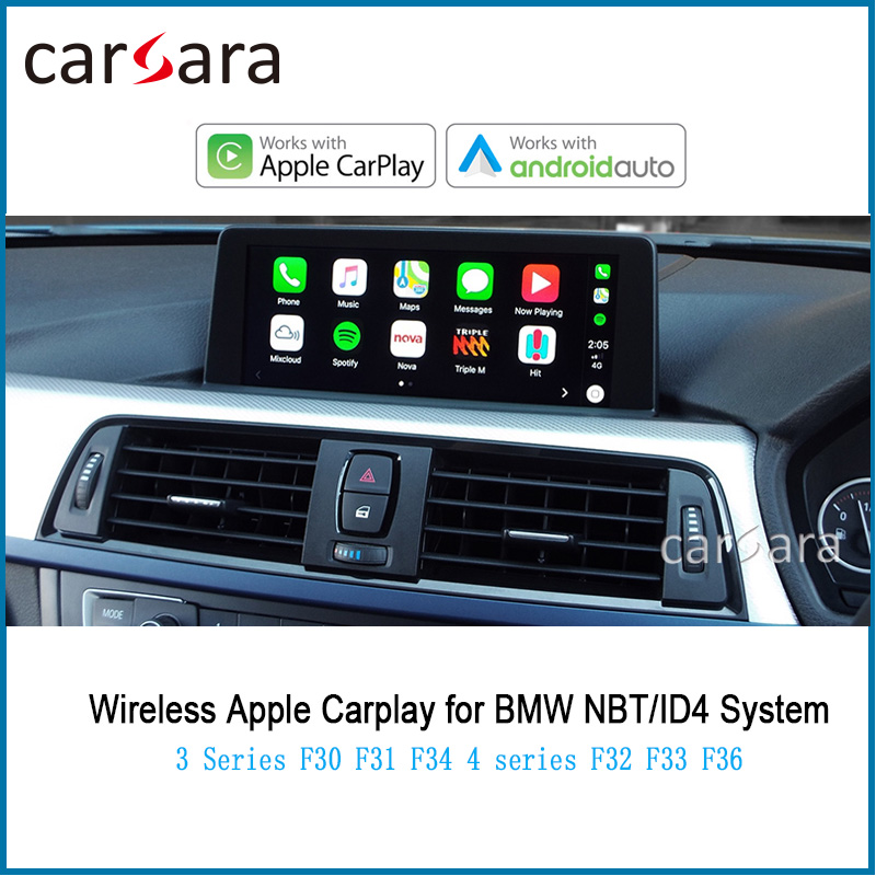 Wirless Mirror Link CarPlay for <font><b>F30</b></font> F31 F34 AirPlay Decorder 4 series F32 F33 F36 <font><b>Android</b></font> Auto App le Car Play image