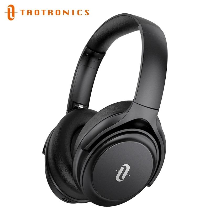 TaoTronics SoundLiberty 85 ANC Wireless Headphones Hybrid Active Noise Cancelling Bluetooth Headset with Mic AptX 40Hr Headphone