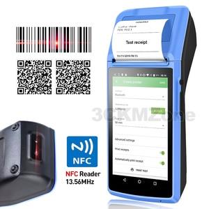 Image 1 - Terminal de mano Wifi POS dispositivo PDA, impresora térmica Bluetooth 58mm, NFC, Bluetooth, sistema POS inalámbrico, Loyverse POS