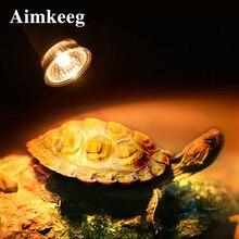 25/50/75 Вт UVA+ UVB 3,0 лампа для рептилий Черепаха Лампа накаливания Mini Pet тепла лампы амфибии ящерицы Температура контроллер UV светильник