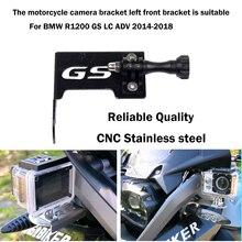 Motocykl uchwyt aparatu przednia kamera wsparcie Go Pro uchwyt do BMW R1200GS przygoda R1200GSA R1200 R 1200 GS/Adv GS1200 LC