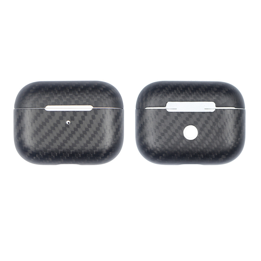Image 5 - New Real Carbon Fiber Protective Case For AirPods Pro Wireless Earphone Charging Case Shockproof LED Cover Earphone AccessoriesEarphone Accessories   -