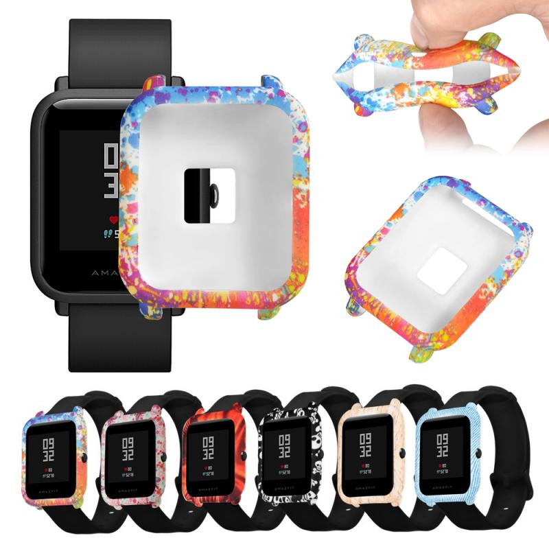 Soft PC Protection Case For Xiaomi Huami Amazfit Bip Youth/Lite Smart Watch Cover Replacement Film Shell Case Protector