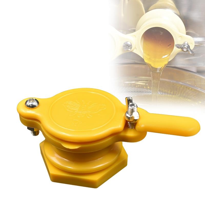Honey Gate Valve Tap Honey Strainer Extractor Beekeeping Bottling Tool 2Pcs AU