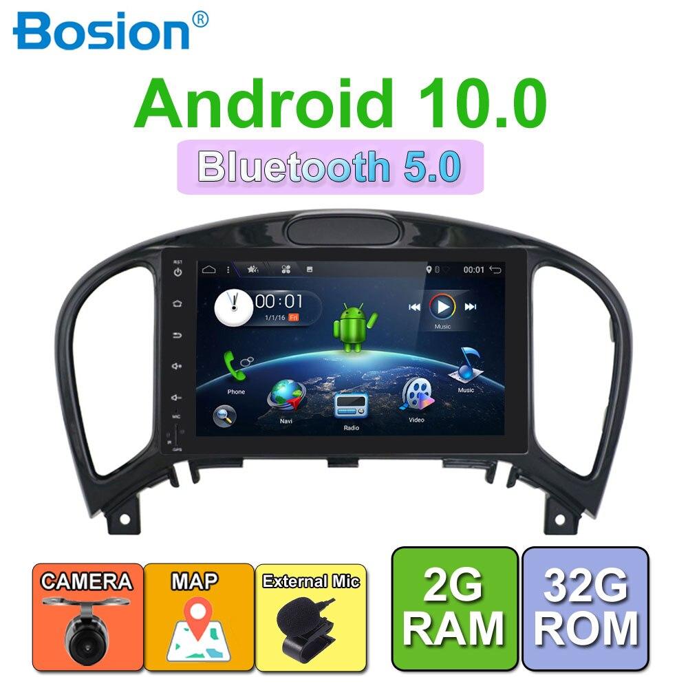 4 2Din Android 9.0 Voiture Lecteur Multimédia 32G Pour Nissan JUKE 2004-2016 Stéréo Audio de voiture Radio Autoradio Lecteur Audio Stéréo