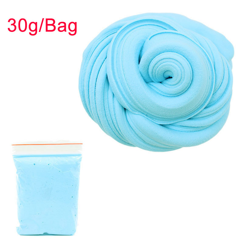 30g Fluffy Foam Slime Clay Ball Supplies DIY Light Soft Cotton Charms Slime Fruit Kit Cloud Craft Antistress Kids Toys For Child