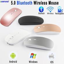 5.0 Bluetooth אלחוטי עכבר עבור Apple iPad 10.2 2019 9.7 2017 2018 5th 6th 7th דור אוויר 3 10.5 פרו 10.5 11 12.9 2018 2020