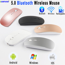 5.0 Bluetooth Wireless Mouse for Apple iPad 10.2 2019 9.7 2017 2018 5th 6th 7th Generation Air 3 10.5 Pro 10.5 11 12.9 2018 2020