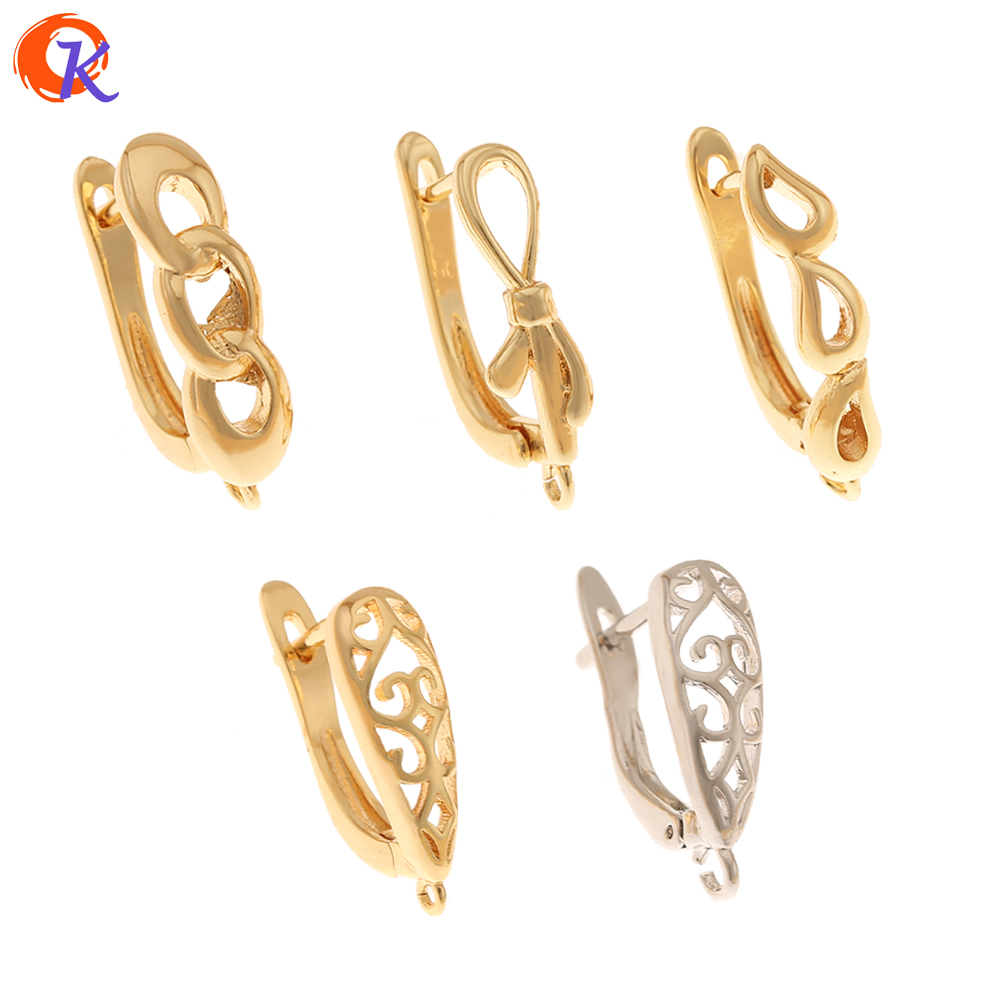 Cordial Design 40Pcs Jewelry Accessories/Genuine Gold Plating/Hand Made/Earring Findings/DIY Jewelry Making/Earrings Hooks