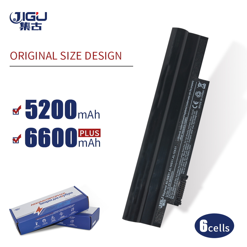 JIGU Laptop <font><b>Battery</b></font> AL10A31 AL10B31 AL10G31 For <font><b>ACER</b></font> <font><b>Aspire</b></font> <font><b>One</b></font> 522 <font><b>722</b></font> D255 D257 D260 For GATEWAY LT23 image