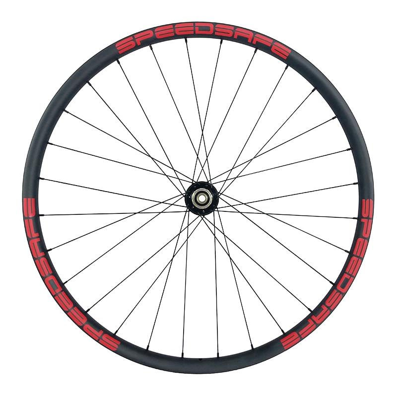 Image 3 - 29er MTB XC 30mm asymmetric carbon wheels 22mm deep clincher tubeless wheelset Novatec D791SB D792SB XDR UD 3K 12K 24H 28H 32Hclincher tubelesscarbon wheels29er mtb -