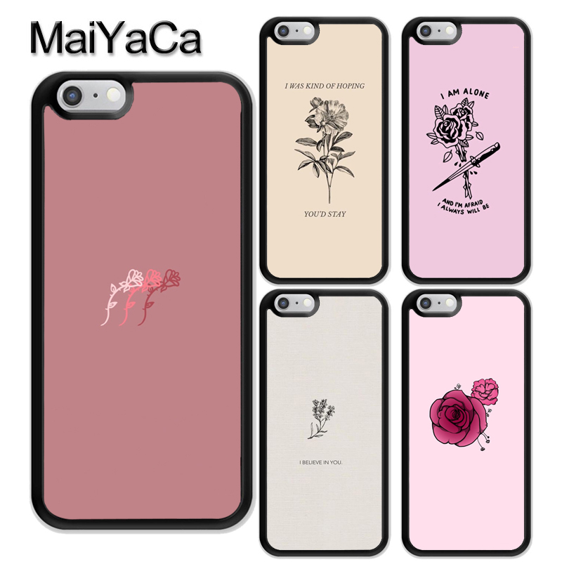 Flower Aesthetics Art Phone Case For Iphone Xr Xs Max X 11 Pro Max