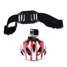 Vented Helmet Adjustable Strap Belt Holder Mount for GoPro Hero 8 7 6 5 4 Session Yi 4K Sjcam Sj4000 Eken H9r Action Camera цена 2017