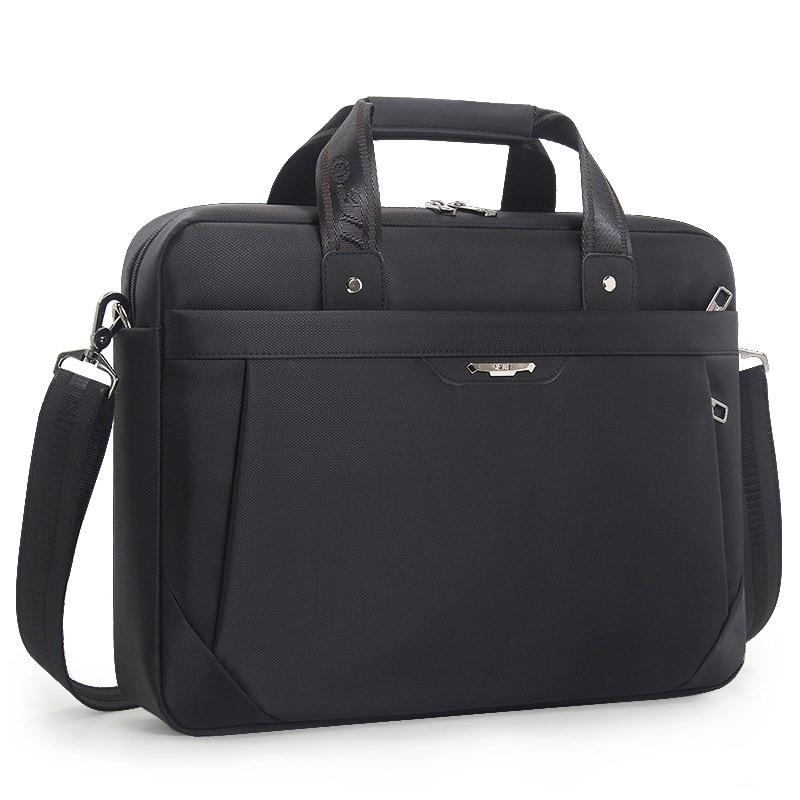 Waterproof Oxford 15.6 Laptop Bag Brand Business Bags Classic Men's Shoulder Work HandBag Men Briefcase Bolsa Feminina