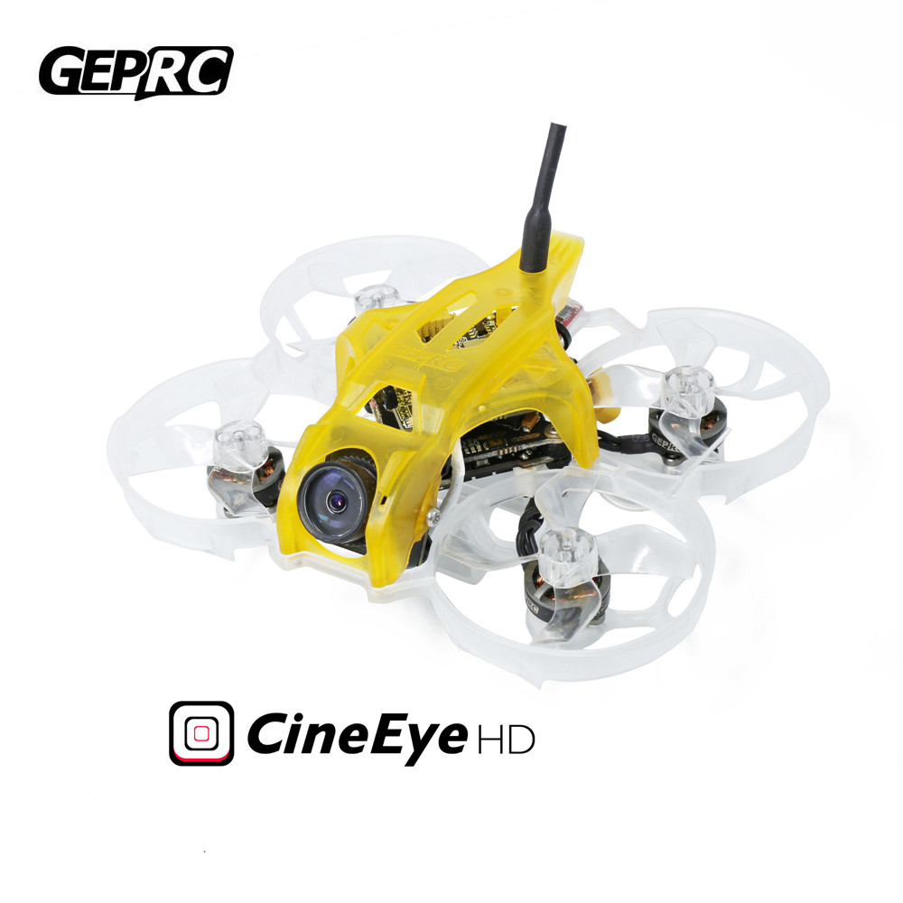 GEPRC CineEye 79mm Indoor Whoop RC FPV Camera Drone Quadcopter GEP-12A-F4 Flight control 2-4S GR <font><b>1102</b></font> 10000KV <font><b>Motor</b></font> image