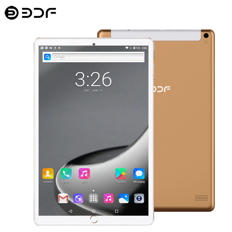 New System 10.1 Inch Tablet 4G/3G Phone CalL Octa Core Android 7.0 Wi-Fi Bluetooth 6GB/64GB IPS Support 5.0 MP Tablet PC+Keyboar