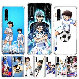 Силиконовый чехол для телефона Captain Tsubasa Ozora Genzo Football для Huawei P40 P30 P20 P10 lite Mate 10 20 30 Pro + Fundas Coque Etui