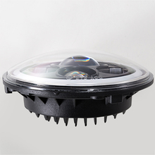 45W 7inch Round Led Headlight Light Headlamp for Jeep Wrangler Off Road Motorcycle цена