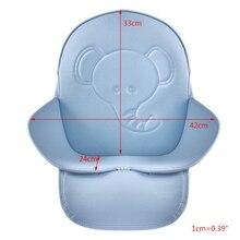 P15C PU Waterproof Universal Highchair Seat Cushion Cover Mat Feeding Chair Cushion Mat For Baby Kids