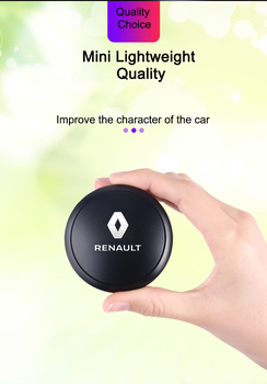 car Aromatherapy Car Perfume Car Air Freshener car interior accessories Flavor UFO Shape Scent Decor for renault duster clio kwi image