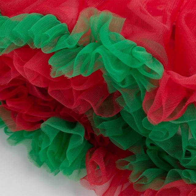 2Pcs Cute Baby Girl Long Sleeve Christmas Theme Pattern Romper Dress+Headband Skirt Outfits Christmas Costume 2
