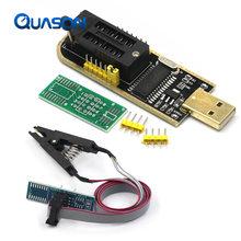 Ch341 24 25 séries eeprom flash bios usb programador módulo + soic8 sop8 clipe de teste para eeprom 93cxx/25cxx/24cxx