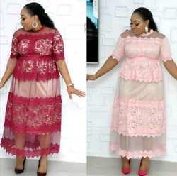 2019 африканские платья для женщин африканская одежда макси платье Африканский наряд платье