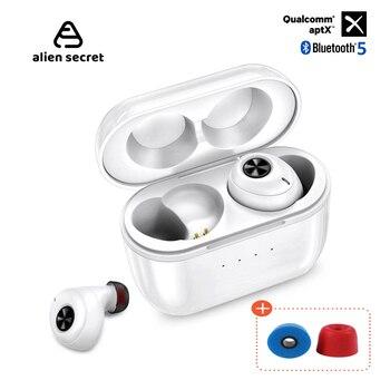 Alien Secret Tws Bluetooth Earphone Wireless Headphones Earbuds wireless bluetooth headset sport