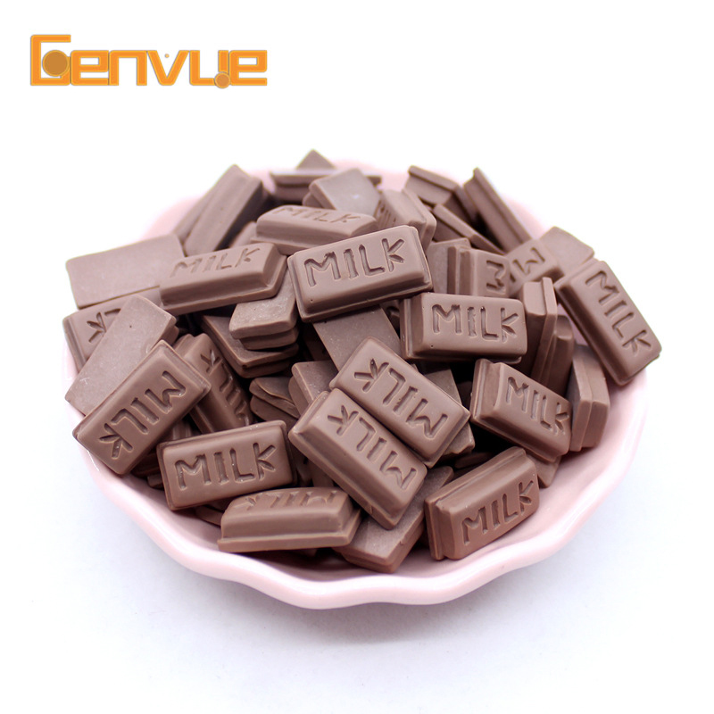 Miniature Food Pretend Play Kawaii Kitchen Set Toys For Children Cream Food Chocolate Toy For Doll Accessories Kichten Kids Toys