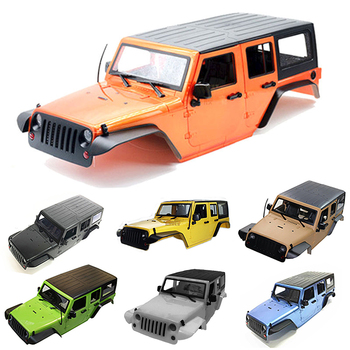 Wrangler Car Shell SCX10 Simulation Climbing Car Shell Jeep Modified Hard Shell Wheelbase 313mm For 1/10 RC Crawler Body Shell фото