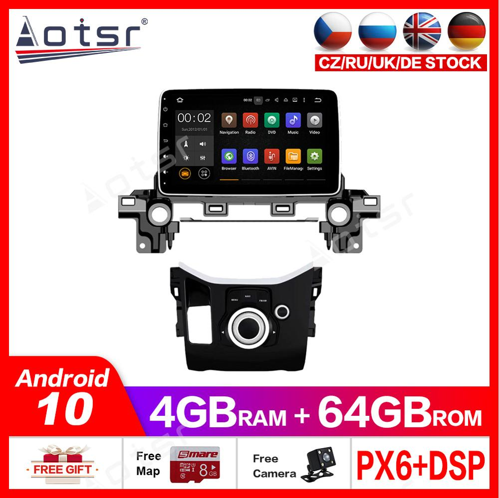 Android10 4+64G PX6 For <font><b>Mazda</b></font> <font><b>CX</b></font>-8 Atenza 2017 2018DSP Carplay <font><b>Radio</b></font> Car DVD Player GPS Navigation HeadUnit Multimedia Recorder image