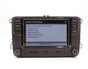 Image 5 - CarPlay Android otomatik RCD330 RCD340 artı Noname radyo 187B C210 VW Tiguan için Golf 5 6 Jetta MK5 MK6 Passat CC Polo 6RD035187B