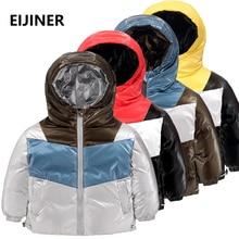 Children Winter Jacket Boys Girl Jackets snowsuit Thickening Long Hooded Outerwear toddler Coats kids parka