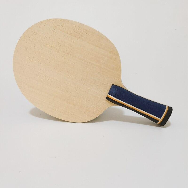 Raquete de Tênis de Mesa Raquetes de Tênis de Mesa Interna e Externa com Fibra de Carbono Embutida e Rápido Ataque de Carbono Interna Zlc 2020